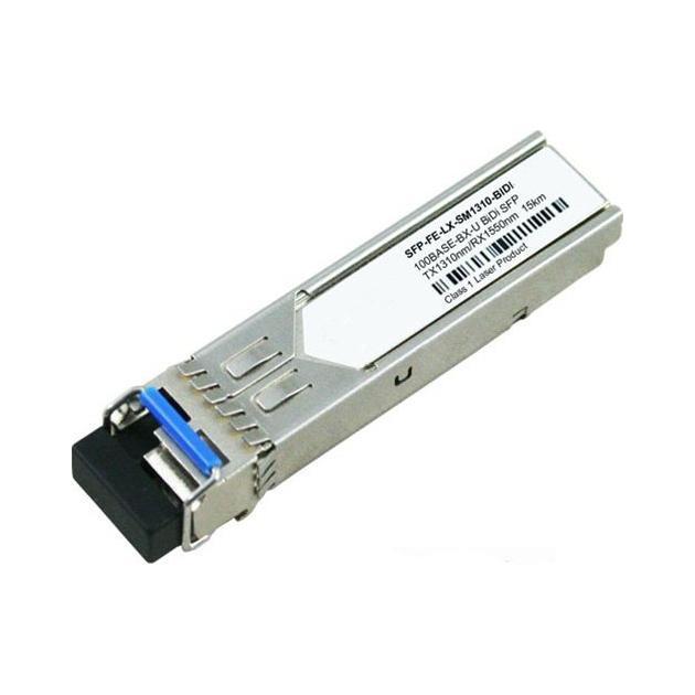 Huawei BiDi transceiver,eSFP,Tx1310nm/Rx1550nm,155M,-15dBm,-8dBm,-32dBm,LC/PC,SM,15km (SFP-FE-LX-SM1310-BIDI) 34060363