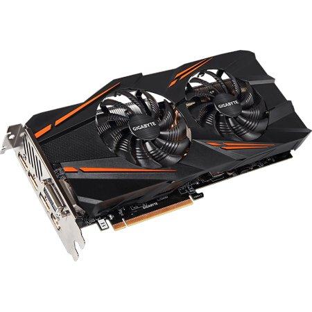 Gigabyte GeForce GTX 1070 Windforce OC 8G 8192Мб, GDDR5, 1582MHz, GV-N1070WF2OC-8GD