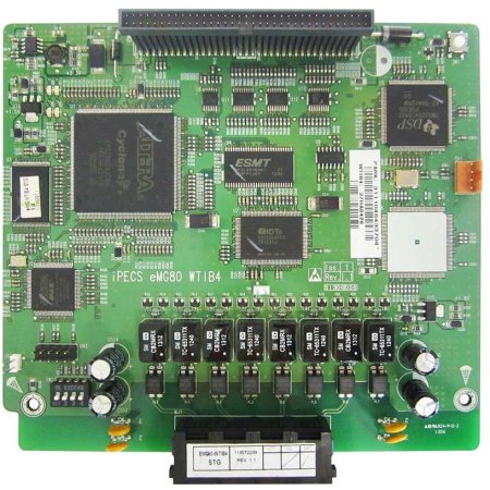 Ericsson-LG Ericsson LG iPECS eMG80 Wireless DECT Terminal Interface Board (4 Base Station)