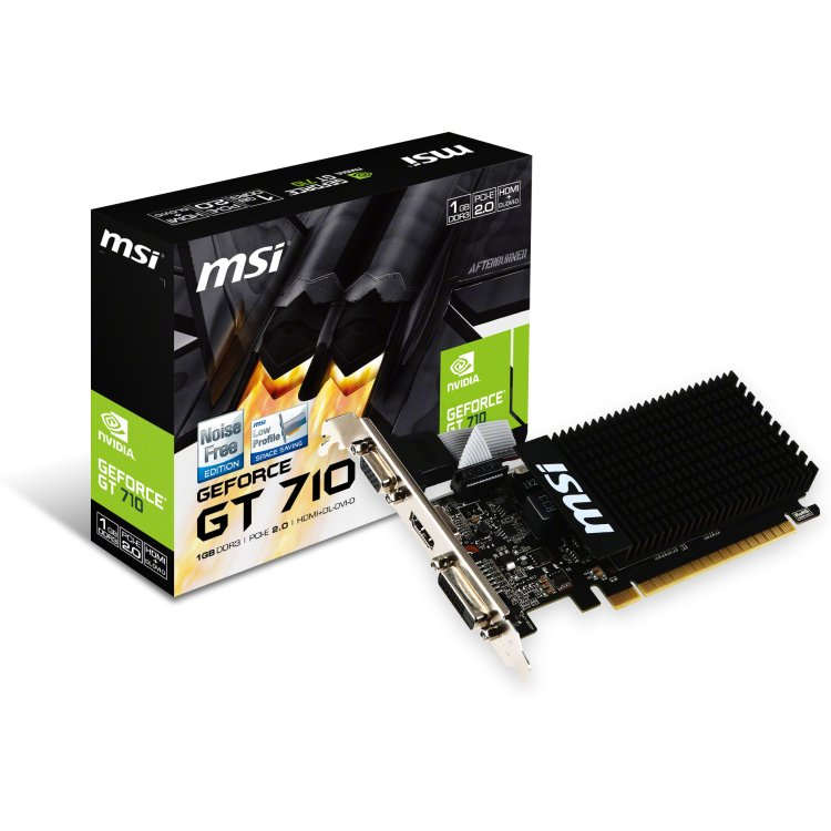 MSI GT 710 2GD3H LP PCI-E 16x 2.0