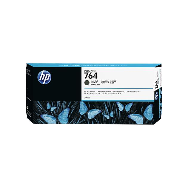HP Inc. Cartridge HP 764 матовый черный для HP DJ T3500 300-ml