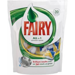 Средство для мытья посуды для посудомоечных машин Fairy All in 1 (упак: 39шт)