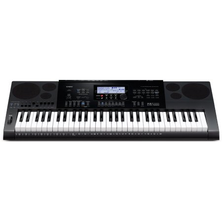Синтезатор Casio CTK-7200 61клав. черный