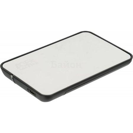 "Внешний корпус для HDD/SSD AgeStar 31UB2A8C SATA пластик/алюминий серебристый 2.5"""