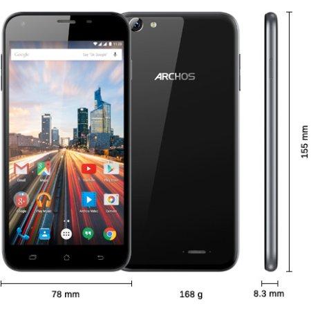 Archos 55 Helium Plus Черный, 4G LTE, 3G