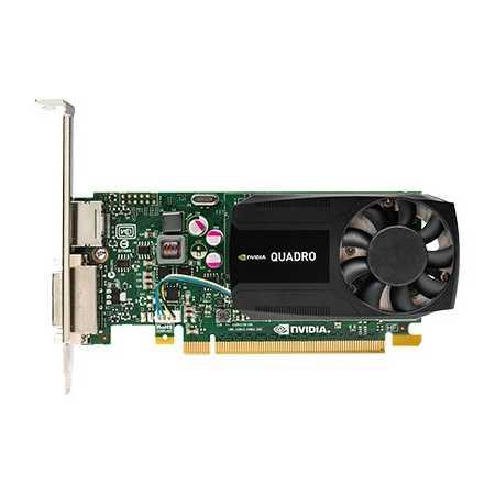 HP nVidia Quadro K620 PCI-E 16x, 2048Мб, PCI-E x16, 1xDisplayPort-> DVI Adapter