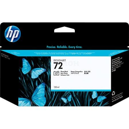 HP 72 Черный, Картридж струйный, Повышенная, нет