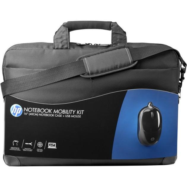 """HP Case Notebook Mobility 16"""", Черный, Полиэстер 16"""", Черный, Полиэстер"""