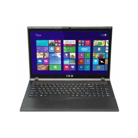 "iRu Jet 1522 15.6"", Intel Pentium, 2500МГц, 2Гб RAM, 500Гб, Черный, Wi-Fi, DOS, Bluetooth"