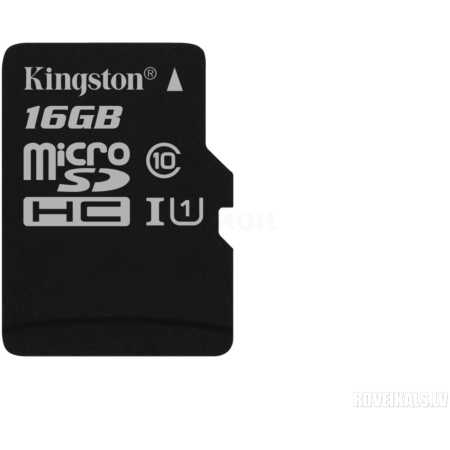 Kingston SDC10G2 microSDHC, 16Гб, Class 10