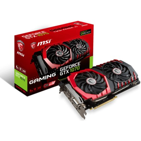MSI NVIDIA GeForce GTX 1070 GAMING 8G