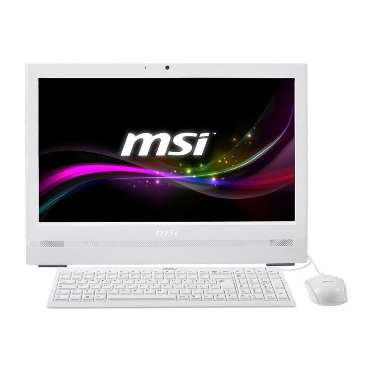 MSI AP200-032RU нет, Белый, 4Гб, 500Гб, Windows, Intel Core i3