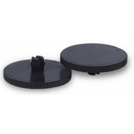 Запасной диск Kw-Trio 110001/4 пластик черный (упак:4шт) для дыроколов 952/954/ 933/938