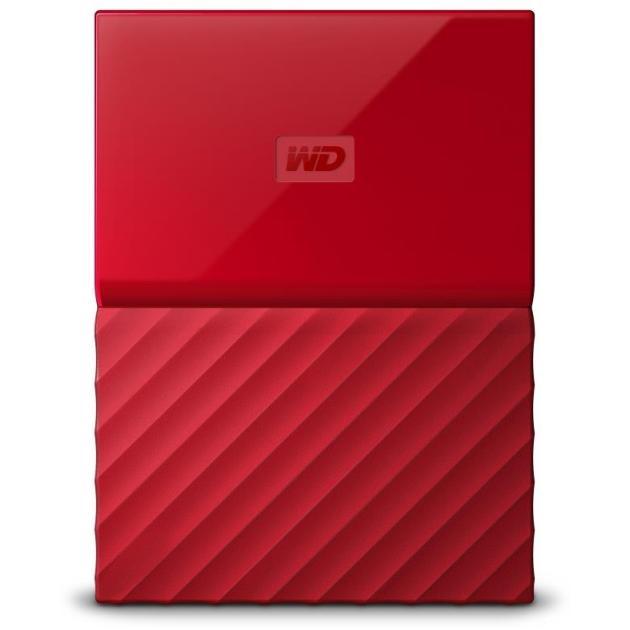 Western Digital My Passport Красный, 4TB