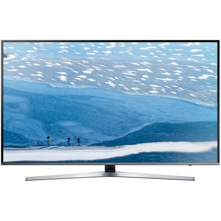 "Samsung UE49KU6470 49"", Серебристый, 3840x2160, Wi-Fi, Вход HDMI"