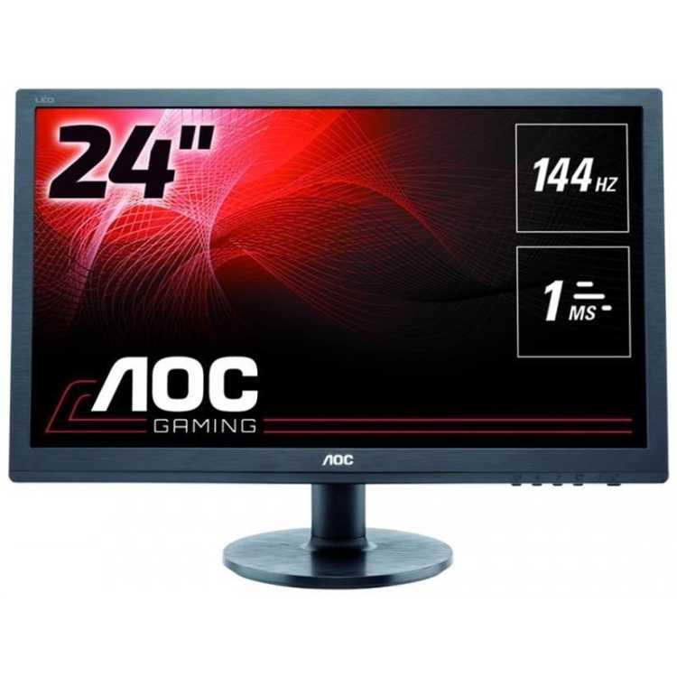 """AOC G2460FQ 24"""", Черный, DVI, HDMI, Full HD"""