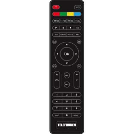 "Telefunken TF-LED42S37T2 42"", Черный, 1920x1080, без Wi-Fi, Вход HDMI"
