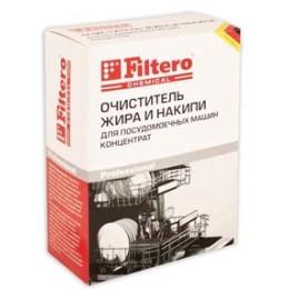 Очиститель Filtero Арт.706 Жира и накипи для посудомоечных машин, концентрат, 250 г,