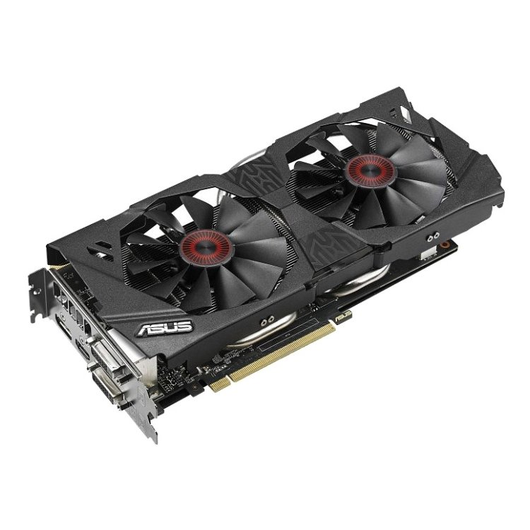 Asus GeForce GTX 970 PCI-E 16x 3.0, 4096Мб, GDDR5