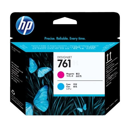 HP Inc. Печатающая головка HP 761 Designjet (пурпурный/голубой)