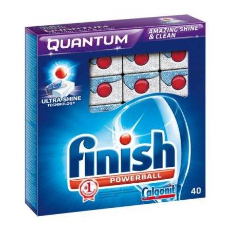 Средство для мытья посуды для посудомоечных машин Finish Quantum 170709070 (упак: 40шт)
