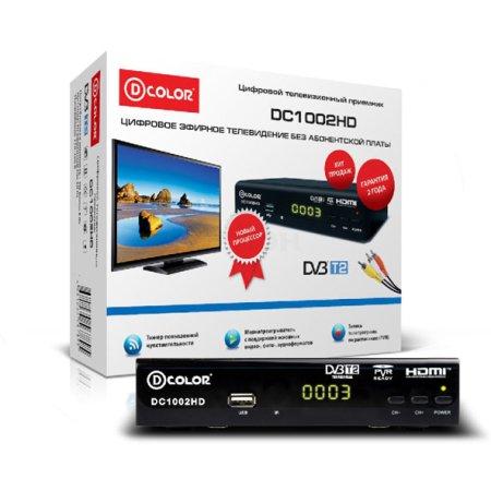 Ресивер DVB-T2 D-COLOR DC1002HD