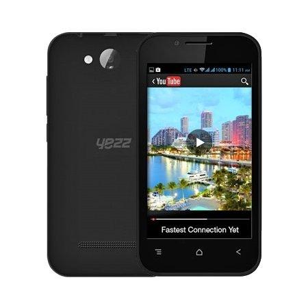 Yezz Andy 4E 3G 4Гб, Черный, Dual SIM, 3G