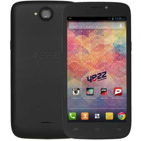 Yezz Andy 5.5EI 4Гб, Черный, Dual SIM, 3G