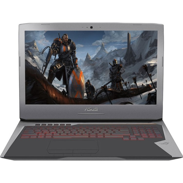 "Asus Rog G752VS-GB081 17.3"", Intel Core i7, 2700МГц, 64Гб RAM, Blu-Ray, 1.5Тб, Wi-Fi, Windows 10, Bluetooth"