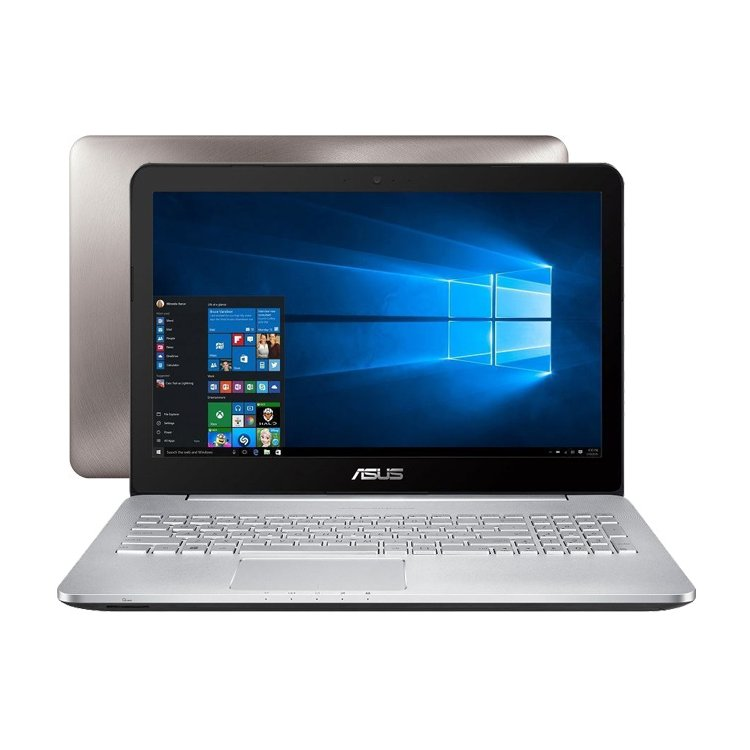 "Asus VivoBook N552VX 15.6"", Intel Core i5, 2300МГц, 8Гб RAM, DVD-RW, 1Тб, Серебристый, Wi-Fi, Windows 10, Bluetooth"