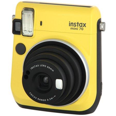 Фотокамера моментальной печати Fujifilm Instax Mini 70 Yellow