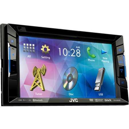 JVC KW-V220BT 2 DIN, синяя подсветка