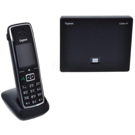Gigaset C530A Duo Черный, Дисплей, SIP
