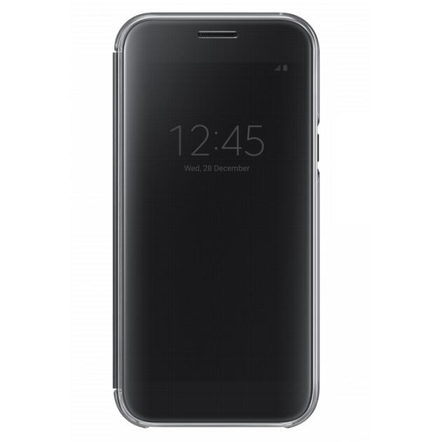 Samsung Clear View Cover для Samsung Galaxy A7 2017 Черный