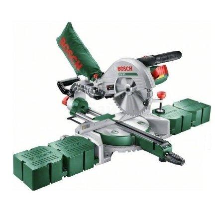 Bosch PCM 8 S 0603B10100 торцовочная, настольная, Зеленый