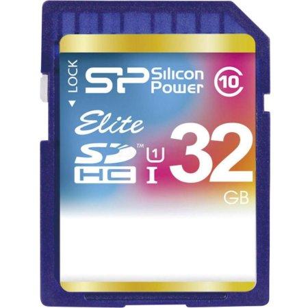 Silicon Power Elite UHS-I U1 SDHC, 32Гб, Class 10