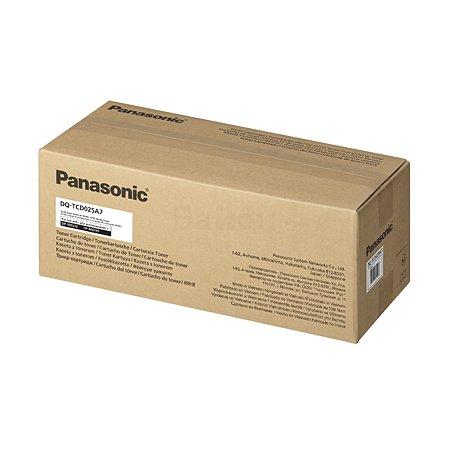 Panasonic DQ-TCD025A7 Черный, Тонер-картридж, Стандартная, нет
