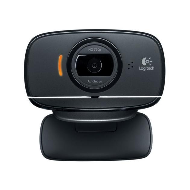 Logitech HD C525 Черный, 1.3Мп