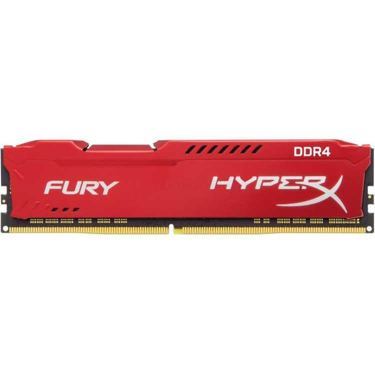 Kingston HyperX Fury HX421C14FR/16 DDR4, 8GB, PC4-17000, 2133, Красный