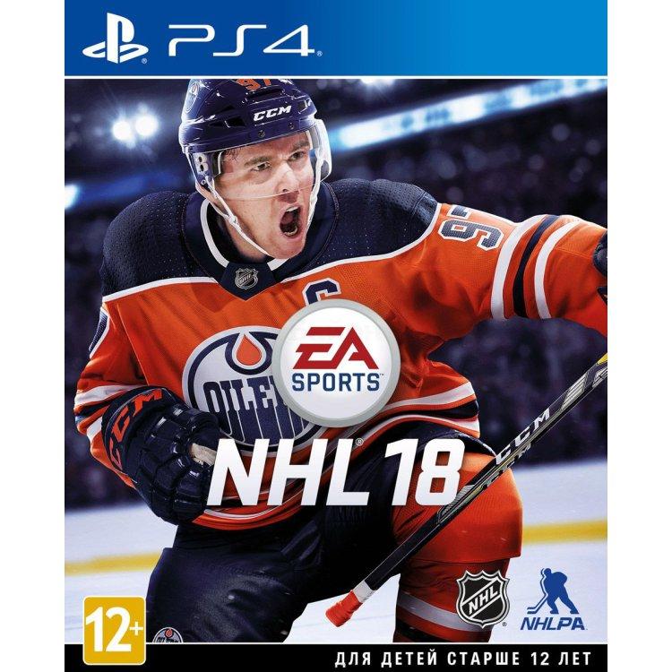 NHL 18 Sony PlayStation 4