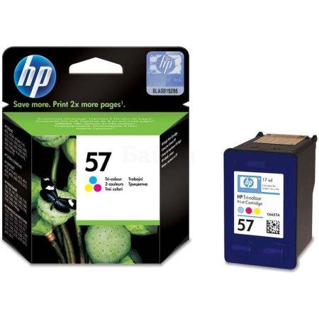 HP 57 Не указан, Пурпурный, Голубой, Желтый
