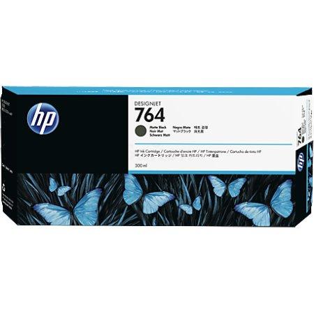 HP 764 Матовый черный, Картридж струйный, Стандартная, нет