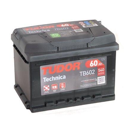 Аккумулятор TUDOR Technica 60Ач, обратная полярность (TB602)