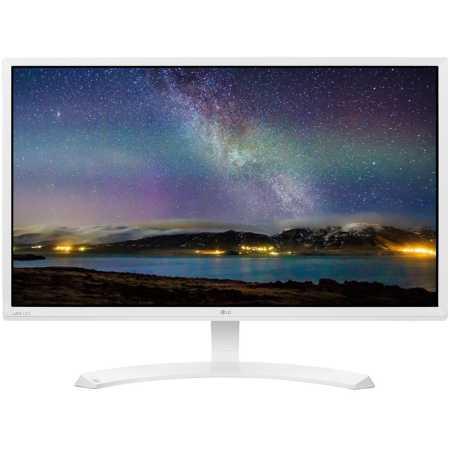 """LG 24MP58VQ-W 23.8"""" Белый, DVI, HDMI"""