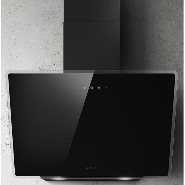 Elica Shire BK/A/60 60см, Черный, Каминная, 1200куб.м/ч