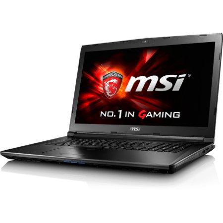 """MSI GL72 6QC-229XRU 17.3"""", Intel Core i5, 2300МГц, 4Гб RAM, DVD-RW, 750Гб, Черный, Wi-Fi, DOS, Bluetooth"""