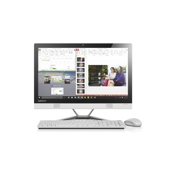 Lenovo IdeaCentre AIO 300-23ISU, 4Гб, 1000Гб, Windows, Intel Core i5