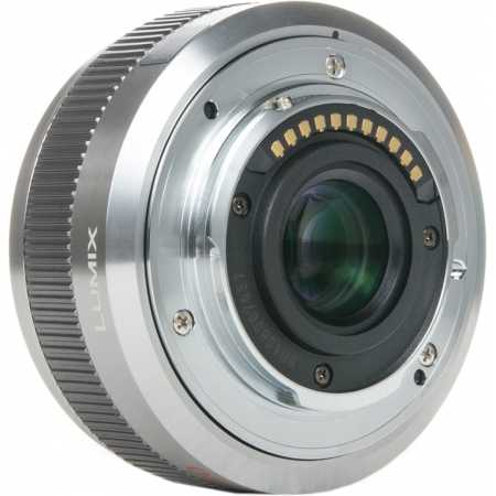Panasonic Lumix G 20mm F1.7 II ASPH Стандартный, Micro 4/3