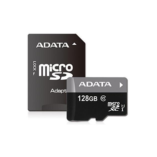 A-Data Premier UHS-I U1 microSDXC, 128Гб, Class 10 + ADP