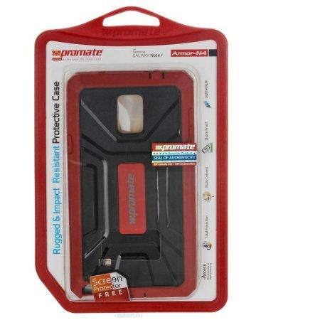 Promate Armor-N4 накладка, пластик, Бордо